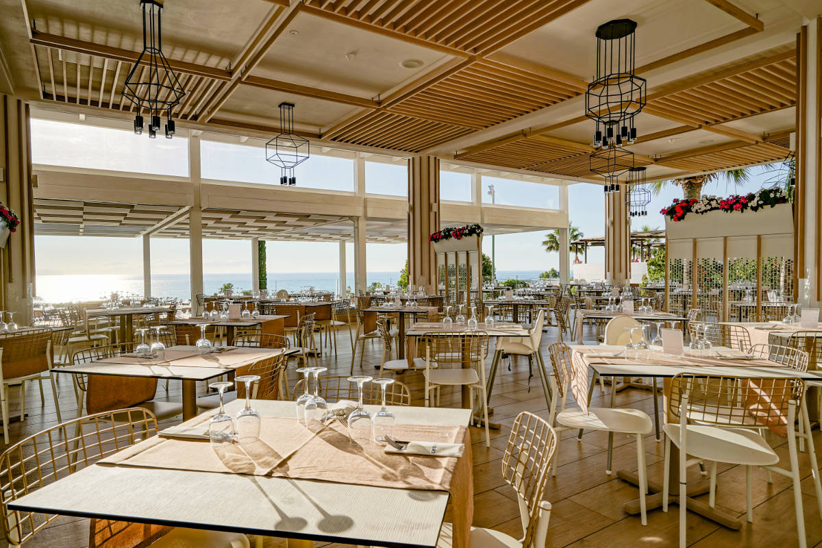 panoramic restaurant Hotel Costa Verde Cefalù